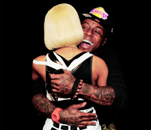 all, black, blonde, celebrity, cool, cute, friends, hair, happy, hat, hug, lakers, lil, lil wayne, minaj, money, nicki, out, rap, records, short, smile, sweet, wayne, yolo, young