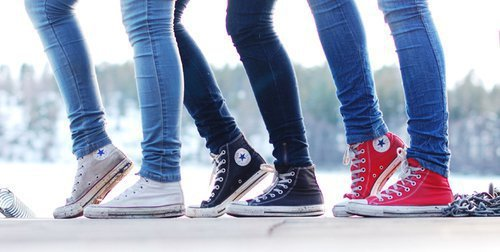 all stars, black, blue, chuck taylors