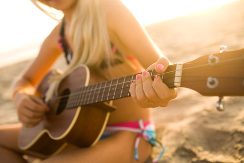 alone, beach, beautiful, blonde, body, girl, guitar, hair, happy, light, long, nailpolish, perfect, picture, pink, playing, sad, skinny, smile, sunset, sunshine, tan