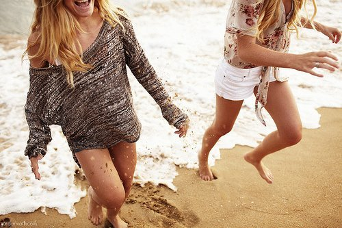 amazing, beach, bff, black and white
