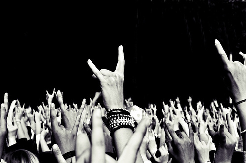 amazing, black and white, concert, cool