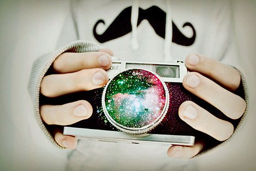 amazing, camera, cute, fingers, flattering, galaxy, jumber, milkyway, mustache, neat, photography, polaroid, tering