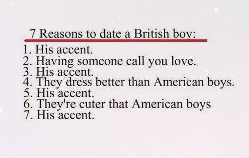 american boys, better, british accent, british boys