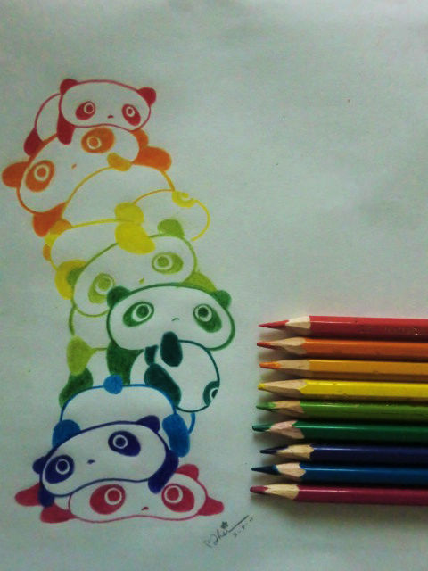 amor, art, color, cute, foto, great, love, love me, panda, perfect, photo, photography