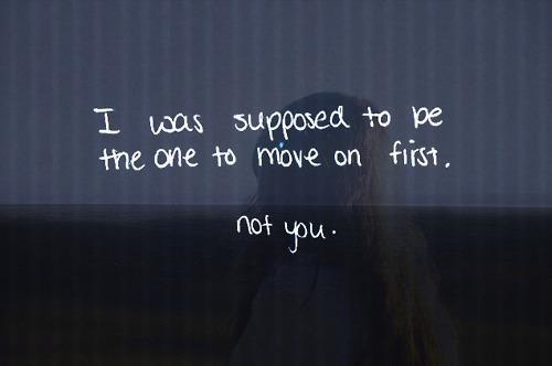 :(, feelings, love, move on, quote, quotes, text