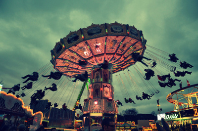 amusement park, fun, people, photography