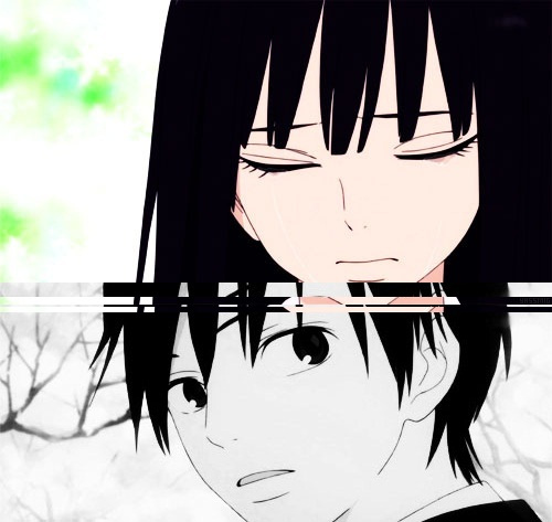 anime boy, anime girl, beautiful, boy, caps, couple, cute, girl, kazehaya, kimi ni todoke, kimini todoke, kuronuma, love, pretty, sad, sawako, shouta