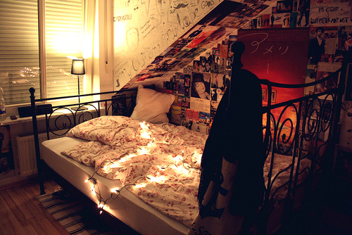 around the teenagers, beautiful, bed, bed room