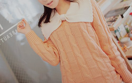 asian, cute, fashion, femenine, kfashion, korean, model, orange, photography, style, tumblr, uljjang, ulzzang