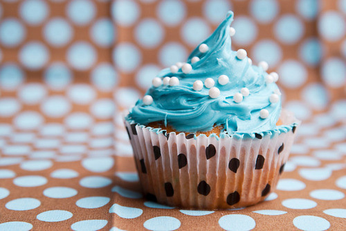 aw, bake, baking, blue, cupcake, cupcakes, food, light, lovely, pearls, sweet, yummy