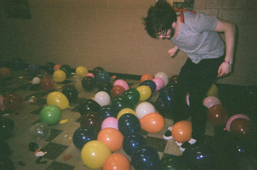 awesome, balloon, boy, cute, fresh, fun, hair, hippie, indie, party