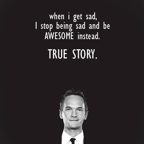 awesome, barney, black and white, life, love, quotes, sadness, tears, text, truth, word