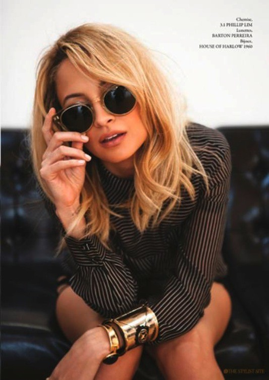 awesome, beautiful, bracelets, fashion, hell yeah, nicole richie, style, sunglasses