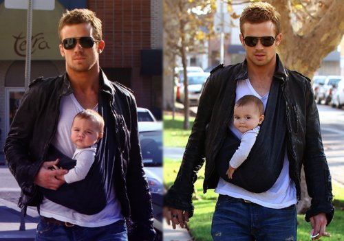 baby, cam gigandet, cool, father, man, nice, sexy