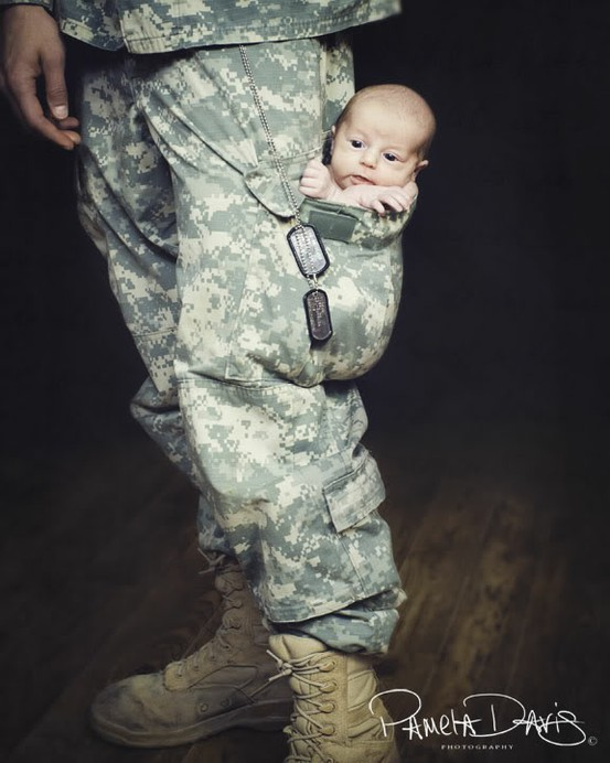 baby, home, love, military - image #493137 on Favim.com