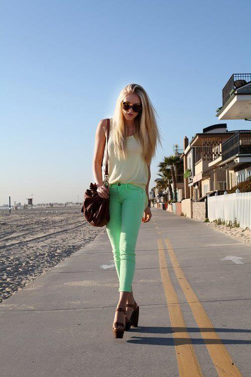bag, beach, beautiful, blonde
