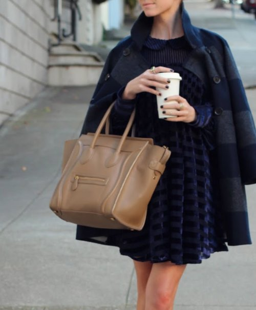 bag, beautiful, blue, coffee
