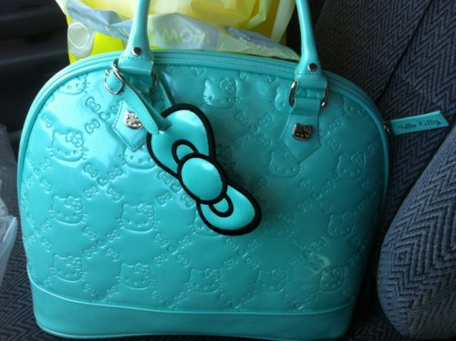 bag, beautiful, blue, cool, cute, fashion, girl, hello kitty, love, photography, pretty, purse, sexy, style, woman