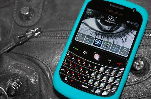 bag, black, blackberry, blue