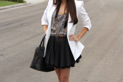 bag, black, dress, shirt