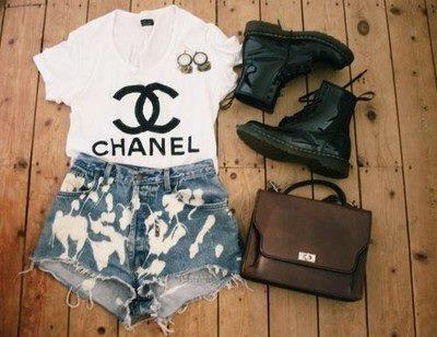 bag, chanel, fashion, shoes