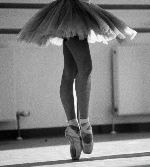 ballet, ballet shoes, black and white, girl, shoes, tutu, vintage