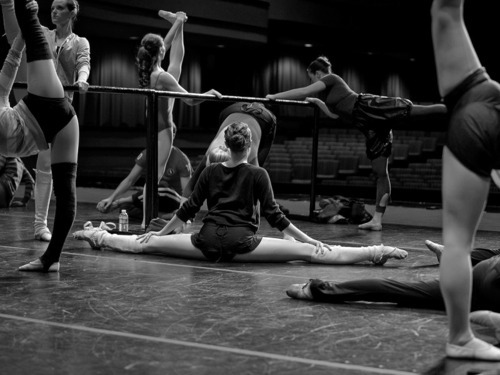 ballet, black and white, girl, photography