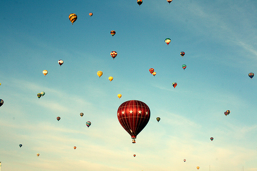 balloon, balloons, beautiful, blue, cloud, clouds, cute, photography, sky