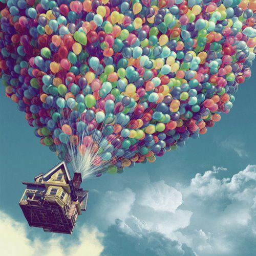 balloons, color, colors, fly