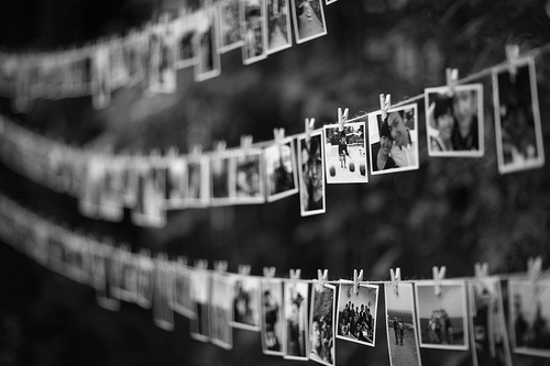 b&w, black and white, friend, friends, memories, memory, old, photo, photography, picture, pictures, polaroid, vintage