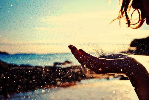 beach, cute, glitter, life, love, photography, summer, summertime, water, waves
