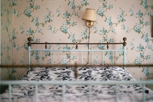 beautiful, bed, bedroom, cute, floral, flowers, photography, place, vintage