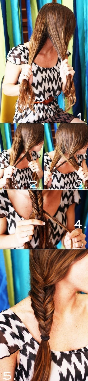 beautiful, braid, fishtail, girl