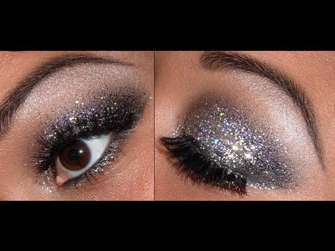 beautiful, brown eyes, eyebrows, eyelashes, eyes, eyeshadow, girl, glitter, make up, makeup, sexy, silver, sparkles, sparkly, woman