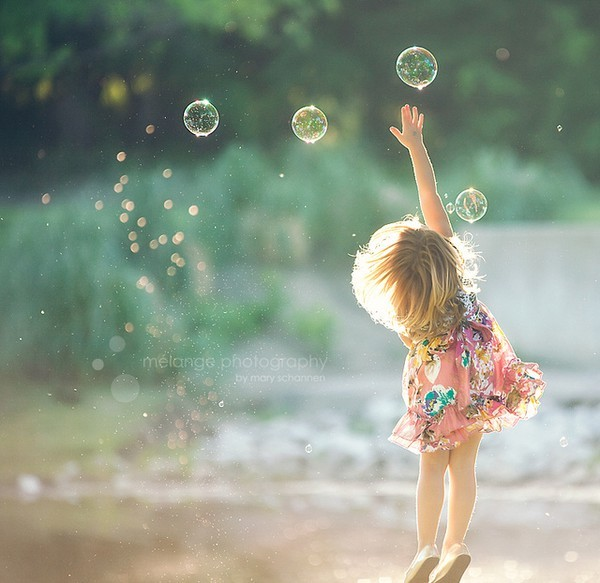 beautiful, bubbles, children, cute, dress, girl, vintage