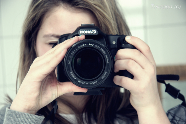 beautiful, camera, canon, cute