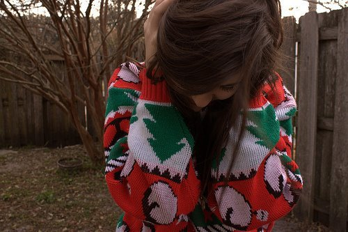 beautiful, christmas, cute, girl, hair, sweet, whinter