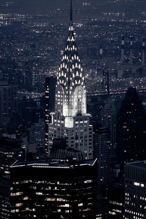 beautiful, chrysler building, city, empire state building