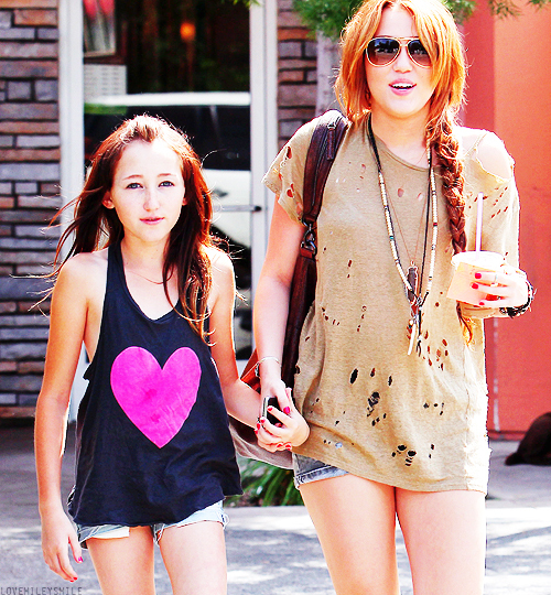 beautiful, cute, miley cyrus, noah cyrus