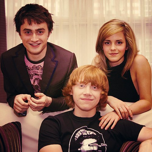 beautiful, daniel radcliffe, emma watson, rupert grint