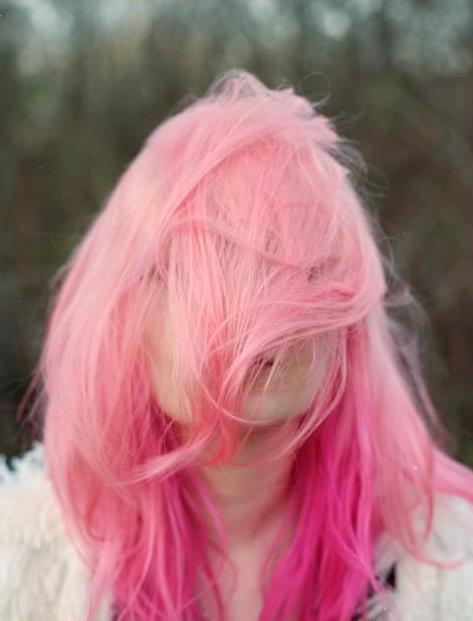 beautiful, fashion, girl, hair, photography, pink, pink hair, vintage