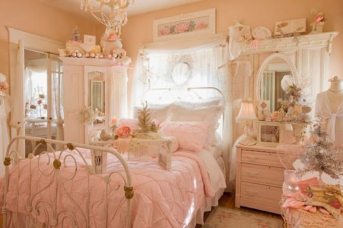 Vintage Princess Bedroom - Creepingthyme.info
