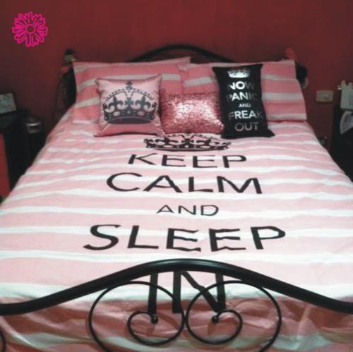 bed, cute, keep calm, love