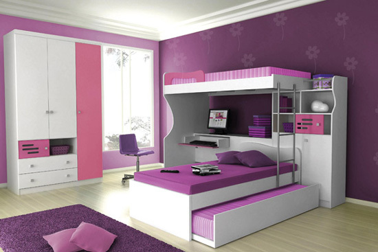 bedroom, dreams, pink, purple