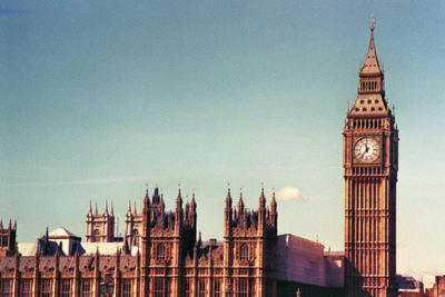 big ben, and, beautiful, black