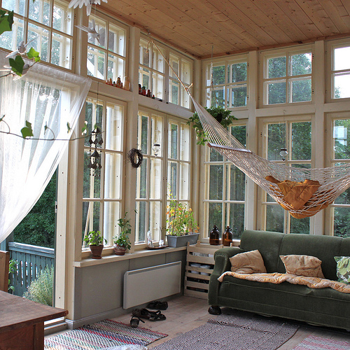 big windows, interior design, room, windows