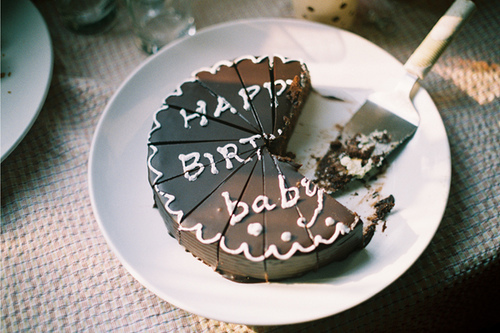 birthday cake, black and white, chocolate, happy birthday, photography, yum, yummy