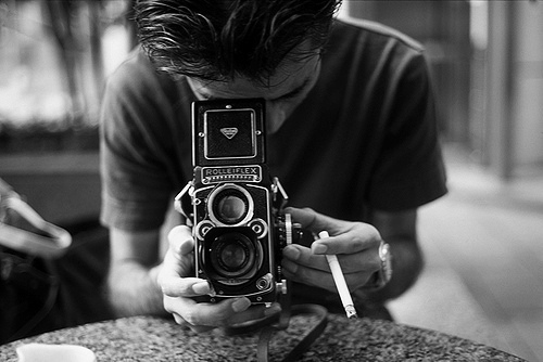 black and white, boy, cigarette, photo, photography, vintage