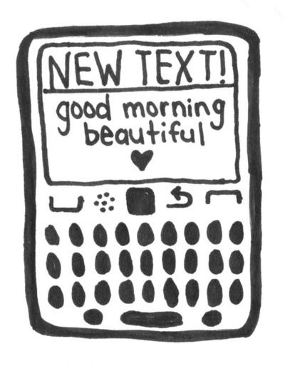 black and white, brain for breakfast, fromslytherin, good morning, message, new text