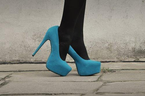 black, blue, cute, fashion